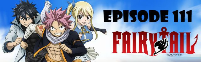 Fairy Tail Episode 111 English Dubbed