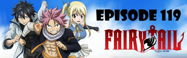 Fairy Tail Episode 119 English Dubbed