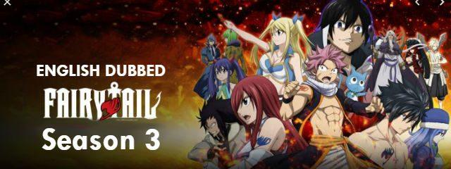Fairy Tail Season 3 English Dubbed